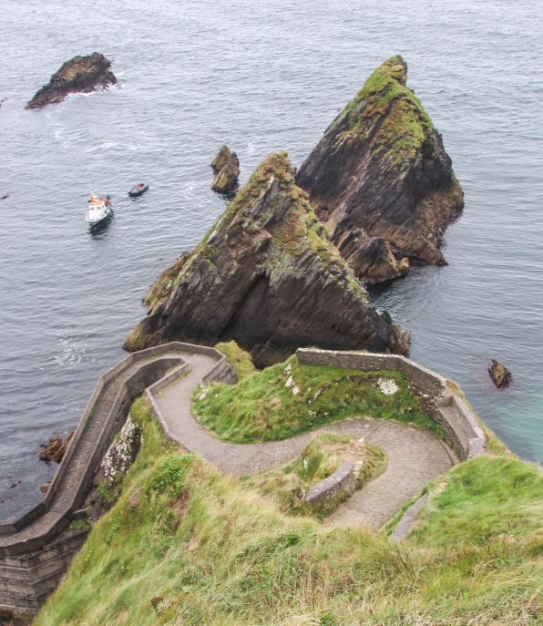 Dunquin Harbour.