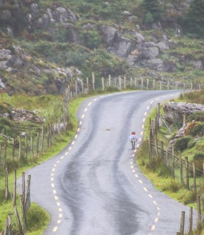 Cesta cez úžinu Gap of Dunloe.